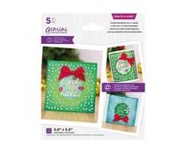 Gemini Interchangeable Holly Frame Create A Card (GEM-MD-CAD-IHO)