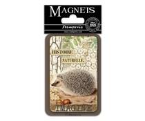 Stamperia Hedgehog 8x5.5cm Magnet (EMAG018)