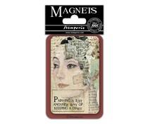 Stamperia Face 8x5.5cm Magnet (EMAG020)