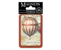 Stamperia Hot Air Balloon 8x5.5cm Magnet (EMAG039)