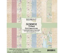 Reprint Summer Vibes 12x12 Inch Paper Pack (CRP019)