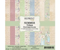 Reprint Summer Vibes 8x8 Inch Paper Pack (RPM001)