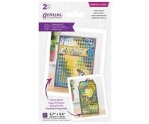 Gemini Aged Argyle Create a Card Die (GEM-MD-CAD-AA)