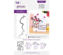 Gemini Hello Beautiful Stamp & Die (GEM-STD-CHRHLB)