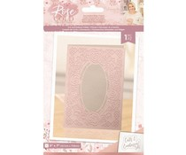 Crafter's Companion Rose Gold Cut and Emboss Folder Decorative Rose Frame (S-RG-CEF-DRF)