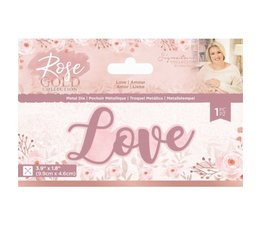 Crafter's Companion Rose Gold Love Die (S-RG-MD-LOVE)