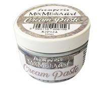 Stamperia Cream Paste Metallic Silver (K3P53A)