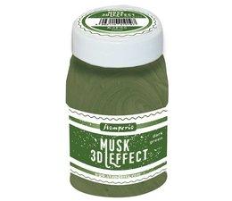 Stamperia 3D Musk Effect Dark Green (100ml) (K3P65)