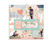 Stamperia Love Story 8x8 Inch Paper Pack (SBBS22)