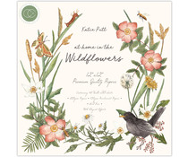 Craft Consortium At Home in the Wildflowers 12x12 Inch Paper Pad (CCPPAD018)