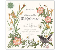 Craft Consortium At Home in the Wildflowers 6x6 Inch Paper Pad (CCPPAD018B)