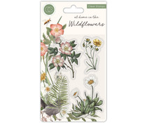 Craft Consortium At Home in the Wildflowers Clear Stamps Flora (CCSTMP036)