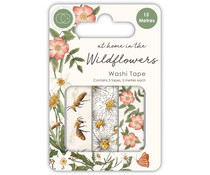 Craft Consortium At Home in the Wildflowers Washi Tape (CCWTPE005)