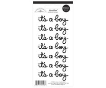 Doodlebug Design Beetle Black It's a Boy Doodles Stickers (3148)