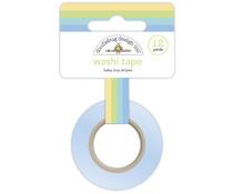 Doodlebug Design Baby Boy Stripes Washi Tape (6749)