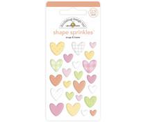Doodlebug Design Snugs & Kisses Shape Sprinkles (23pcs) (6757)