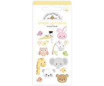 Doodlebug Design Nursery Friends Shape Sprinkles (14pcs) (6758)