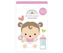 Doodlebug Design Sweet Girl Doodle-Pops (6768)