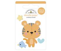 Doodlebug Design Cuddly Cub Doodle-Pops (6779)