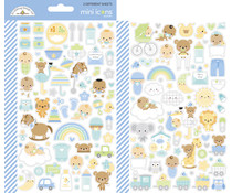 Doodlebug Design Special Delivery Mini Icons Stickers (6789)