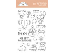 Doodlebug Design Nursery Friends Doodle Stamps (6793)