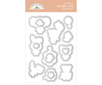 Doodlebug Design Nursery Friends Doodle Cuts (6794)