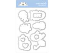 Doodlebug Design Special Delivery Doodle Cuts (6796)