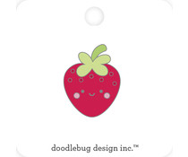 Doodlebug Design Berry Cute Collectible Pin (6803)