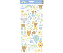 Doodlebug Design Special Delivery Icons Stickers (6812)