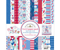 Doodlebug Design Land that I Love 12x12 Inch Paper Pack (6851)