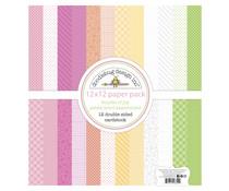 Doodlebug Design Bundle of Joy 12x12 Inch Petite Print Paper Pack (6852)