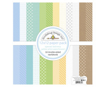 Doodlebug Design Special Delivery 12x12 Inch Petite Print Paper Pack (6853)