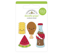Doodlebug Design Foodie Friends Doodle-Pops (6884)