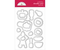 Doodlebug Design Bar-b-cute Doodle Cuts (6889)