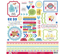 Doodlebug Design Bar-b-cute This & That Stickers (6892)
