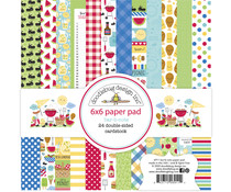 Doodlebug Design Bar-b-cute 6x6 Inch Paper Pad (6911)