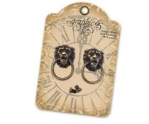 Graphic 45 Lion Head Door Knockers (4501028)