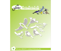 By Lene Birds Cutting & Embossing Dies (BLD1279)