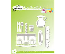 By Lene Picnic Basket Cutting & Embossing Dies (BLD1283)