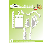 By Lene Picnic Cutting & Embossing Dies (BLD1284)