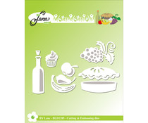 By Lene Fruit Cutting & Embossing Dies (BLD1285)