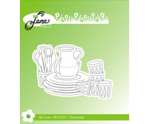 By Lene Picnic 1 Clear Stamp (BLS1145)