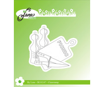 By Lene Picnic 3 Clear Stamp (BLS1147)
