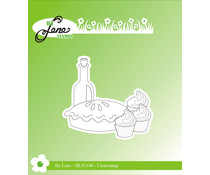 By Lene Picnic 4 Clear Stamp (BLS1148)