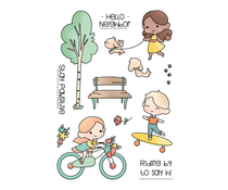 LDRS Creative A Day in the Park Clear Stamps (LDRS3215)
