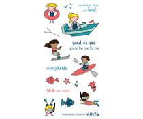 LDRS Creative Float your Boat Clear Stamps (LDRS3217)