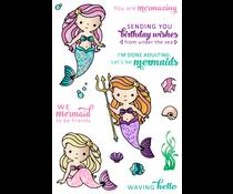 LDRS Creative Mermaid Treasures Clear Stamps (LDRS3224)