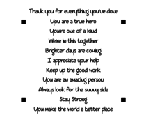 LDRS Creative Encouragement Stack Clear Stamps (LDRS3225)