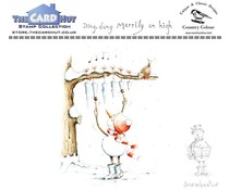 The Card Hut Snowboots: Ding Dong Merrily on High Clear Stamps (CCSBDD)