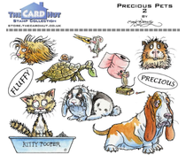 The Card Hut Precious Pets 2 Clear Stamps (MBPPP)
